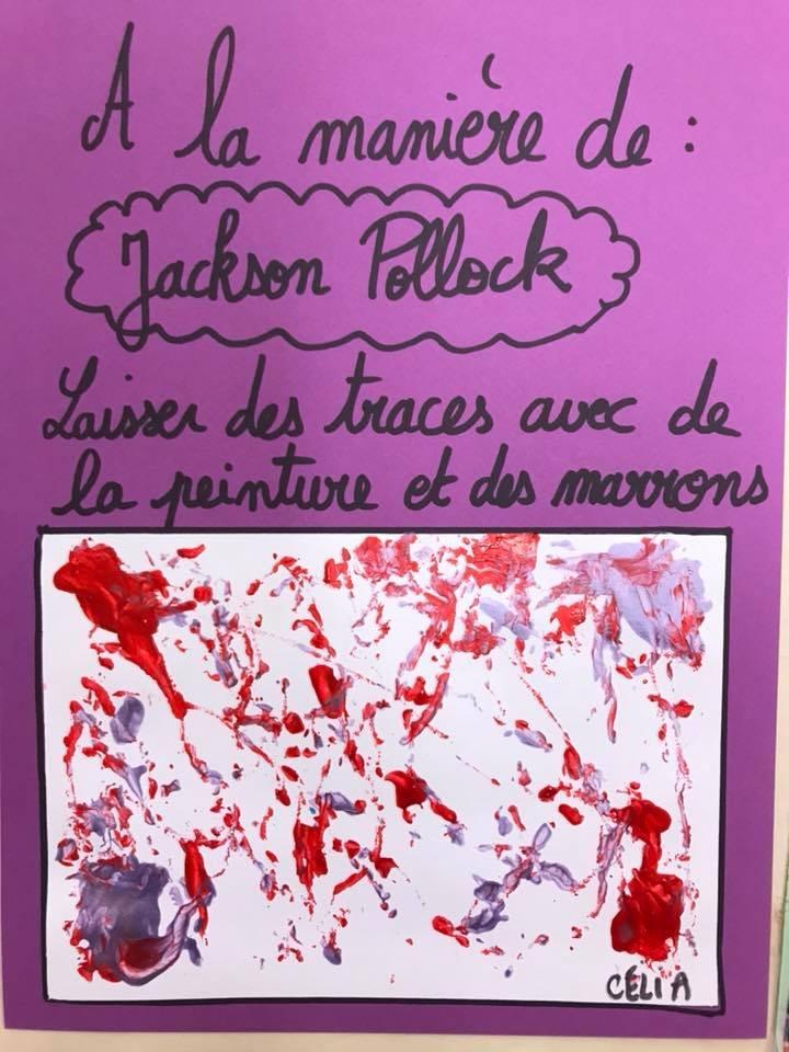 Jackson Pollock Laisser Des Traces Ps Observer Des